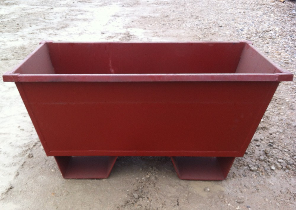 Steel Mortar Boxes : Cornerstone industries steel nesting forklift mortar