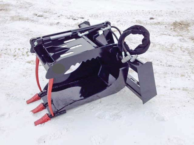 Skid Steer Big Ripper Grapple Bucket