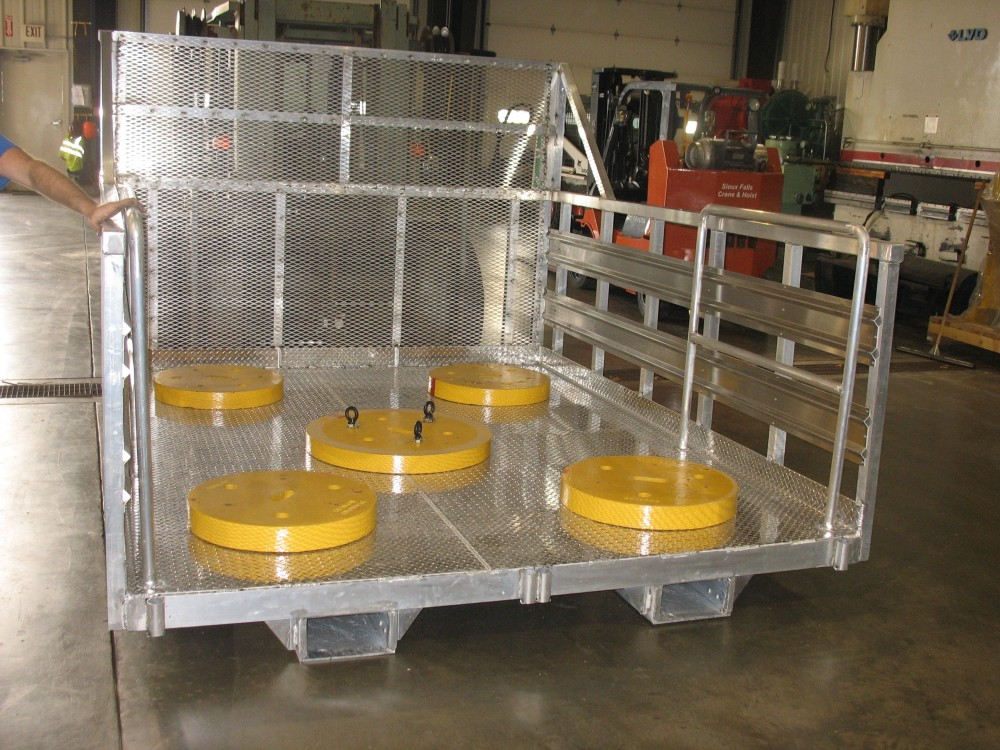 Aluminum Work Platform Man Basket