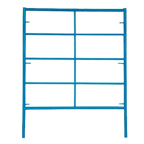 "5' Wide by 6'4"" High Triple Ladder Double Box Mason Frame"