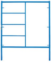 "5' Wide by 6'4"" High Triple Ladder Mason Frame"