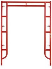 "6' Wide by 7'6"" High Side Walk Canopy Frame"