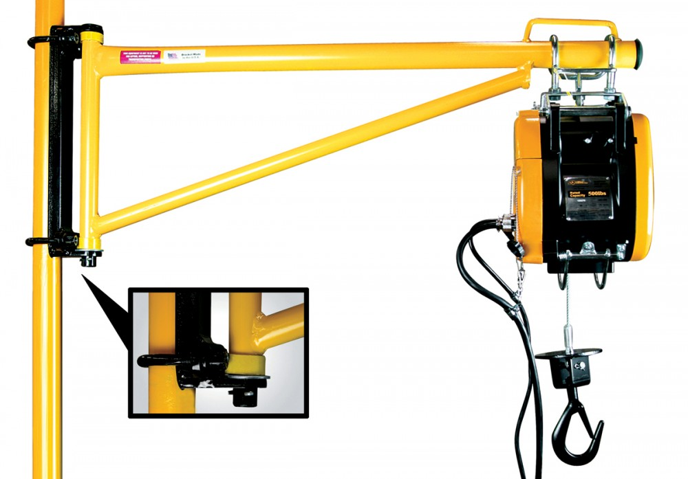Swing Arm Hoist Mount : Cornerstone industries hoist arms wheels