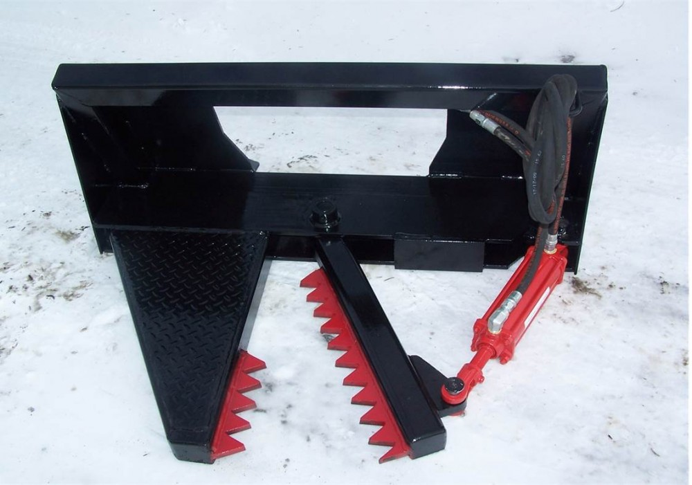 Skid Steer Tree and Root Puller