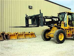 Large Wheel Loader Pallette Fork